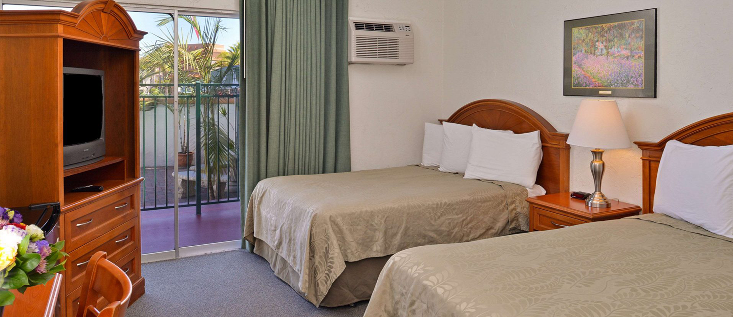 Our Guest Rooms Can Accommodate Families Visiting San Diego