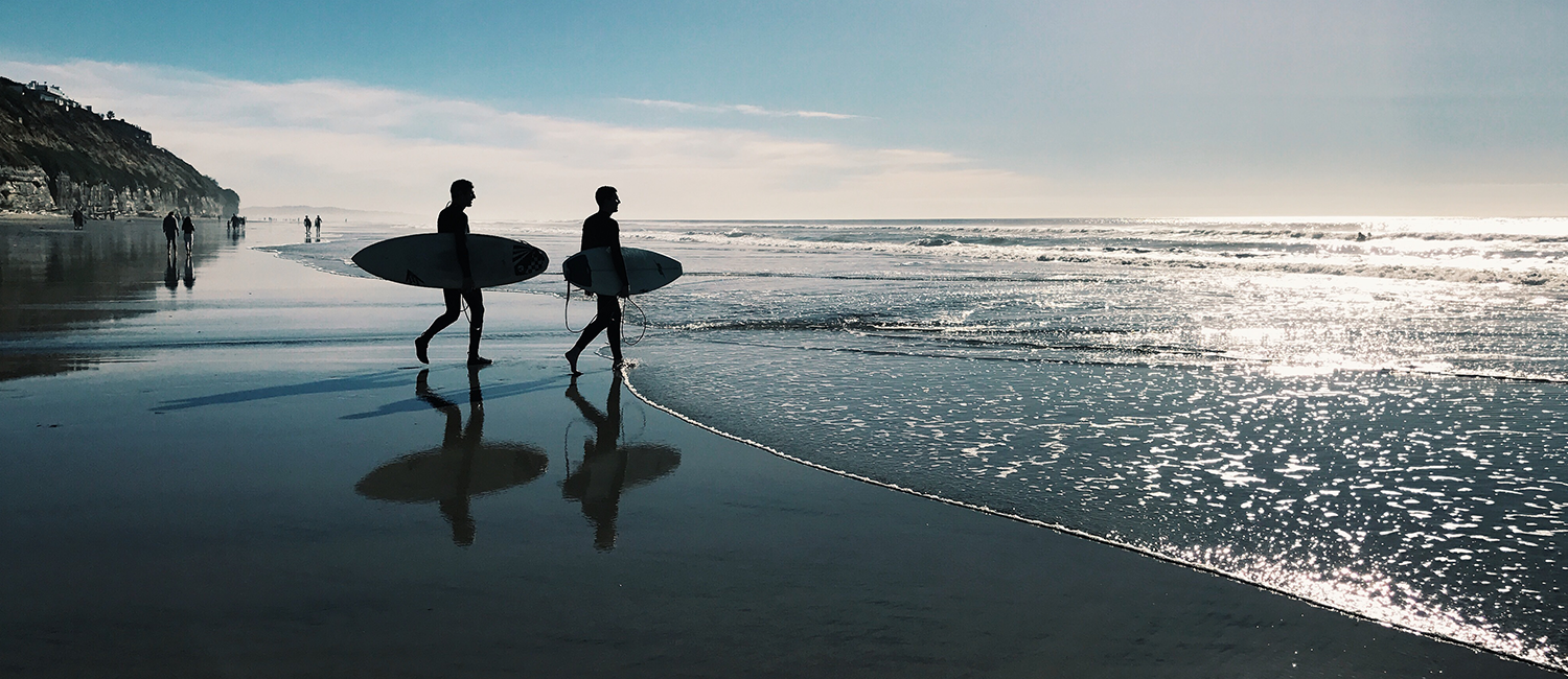 Enjoy The Sun and Surf Of The San Diego Beaches